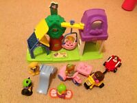 Fisher Price Little People swing park playset