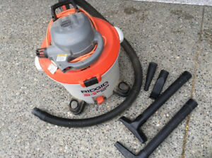 Shop vac wet/dry