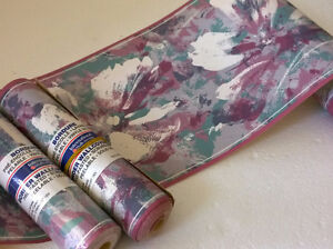Lot of 3 rolls of wallpaper border Brand new London Ontario image 1