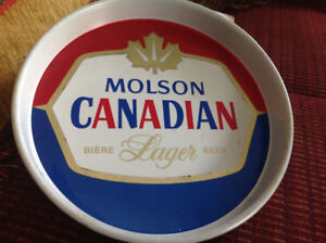 VINTAGE MOLSON CANADIAN LAGER BEER TRAY