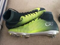 Nike cr7 sock boots size7