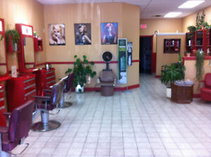 hairstylist or esthetician for chair or rooms rental opportunity