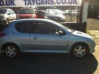 SALE NOW ON !! PEUGEOT 206 1.4 VERVE 2006 £1395