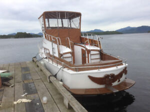 Diesel Cruiser 32 ft. First person offering $7000.00 gets her