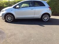 2011 60 plate Toyota Yaris SR Nav 1.33T with FTSH and only 68k