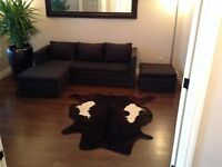 Cow Hide Rug, Carpet, Genuine Leather.