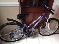 BACK UP DUE TO TIME WASTERS--TEENAGE CHILDREN'S BIKE FOR SALE GIRLS BIKE( no lower than £100)