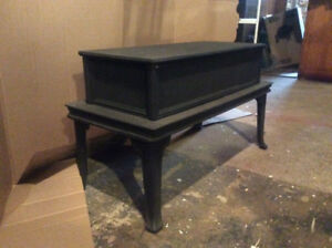 Cast Iron Stove Coffee Table