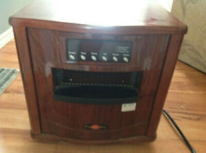 Comfort Zone Infrared portable Heater $60