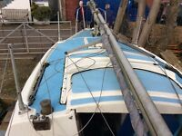 Dockrel 22 sailing yacht