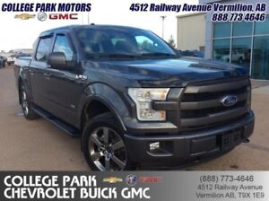 2016 Ford F-150 Lariat  Panaramic sunroof , F-150 4X4
