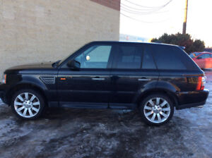 Rang Rover sport supercharged