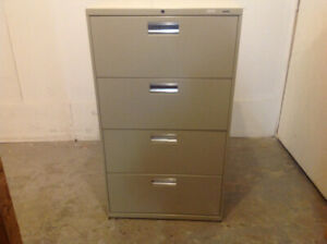 4-DR LATERAL FILE CABINETS