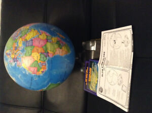 Discovery Kids Glow Star Globe. Works great! Collectible.