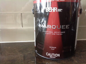 Behr Marquee 3.7 L Deep Base Flat Exterior Paint with Primer