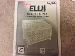 Convertible sleep system complete with mattress/bedding