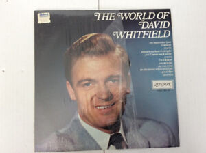 DAVID WHITFIELD: The World Of | Original LP Canadian Release
