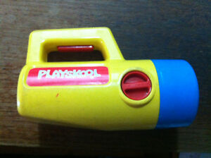 Lampe de poche Playskool - Vintage - Flashlight
