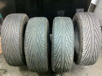 2005 Ford Mustang Michelin HydroEdge 215/65/16 Tires