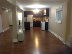 Newly renovated above ground 2 bedroom separate entrance apt.