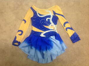 Gymnastics and figure skating outfit