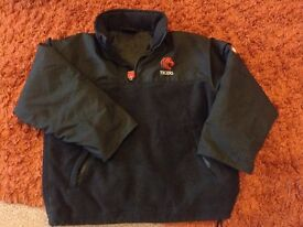 Leicester Tigers Rugby fleece..size SB (8-10yrs) ish