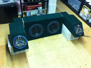 """Jeep YJ highly customized stereo system 2x 12"""" + 2x 8"""" subwoofer Windsor Region Ontario image 3"""