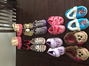 Shoes and slippers lot EUC