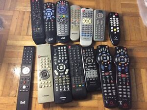 Tv remote control Rogers, Bell, Toshiba, Sony,  Pioneer