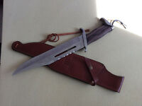 Rambo 3 Bowie Knife. Movie Collectible.