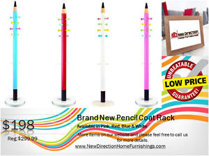 ◆Brand New Pencil-Shape Coat Rack 4 Colors Available@NewDirect◆