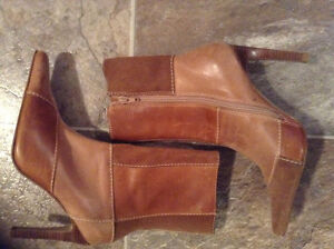 New & Cute Steve Madden Different Toned Boots for $50!!!