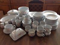Denby Stoneware Encore (Sweet Pea Design) Dinner Set