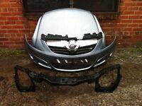 Vauxhall corsa D 2006 2007 2008 2009 2010 genuine front bumper + front panel + bonnet for sale