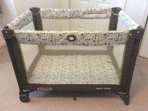 Graco-Pack and Playard with 3 inch inner spring mattress