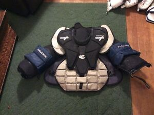 Complete Set of Senior Pro Spec Goalie Gear