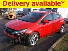 2016 Vauxhall Astra SRi CDTi S/S 1.6 DAMAGED REPAIRABLE SALVAGE