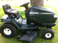 "CRAFTSMAN LAWN TRACTOR 46""CUT ""DELIVERY AVAILABLE"""