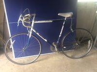 Racing rally bike bought on 17/4/1989