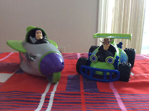 2009 TOY STORY 3 ACTION WOODY AND BUZZ LIGHTYEAR ACTION VEHICULE Gatineau Ottawa / Gatineau Area image 1