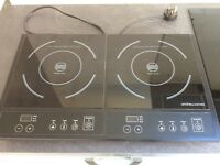 Electric Double Induction Hob