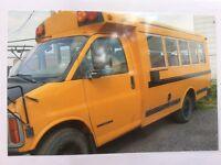 MiniBus GMC 2001 diesel 20 passagers