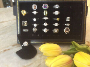 Rings  all 925 Sterling Silver