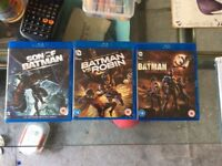 6 D.C. animated films (separate or the whole lost for £48