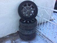 Alloy winter wheels