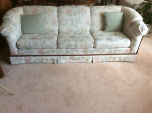 Chesterfield & matching chair.