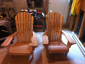 Handcrafted Adirondack Chairs