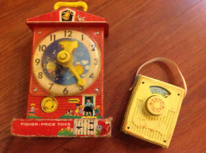 Working Vintage FISHER PRICE Musical toys
