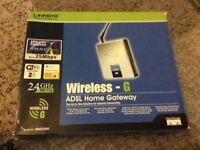 Cisco Linksys WAG200G ADSL gateway-router