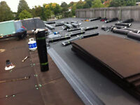 Commercial Flat Roof,Shingles Eavestrough,Soffit,Siding,Mr.Chan